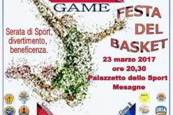 "A Mesagne il ""CSI all star Game"" di Basket"