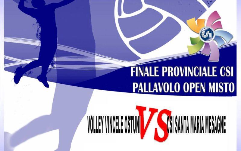 Campionati Nazionali – Finali Provinciali Calcio a 5 Open e Pallavolo Open Mista