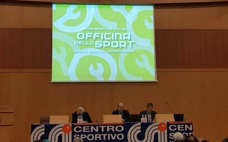 Il CSI Brindisi ha partecipato a Roma nei giorni 6 e 7 all'Officina dello Sport