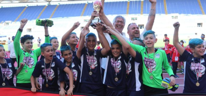 #GazzettaCup 2017, Euro Sport Academy Campione Nazionale Young