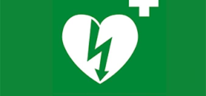 Domenica 26 Novembre il corso per addetto all'uso del Defibrillatore