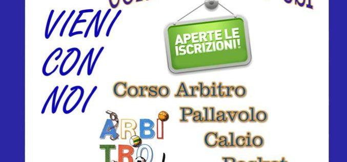Corso di Formazione per Arbitri – aperte le iscrizioni