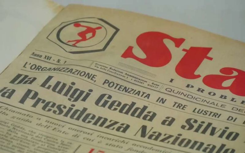 """L'archivio sportivo """"deposito di valori"""""""
